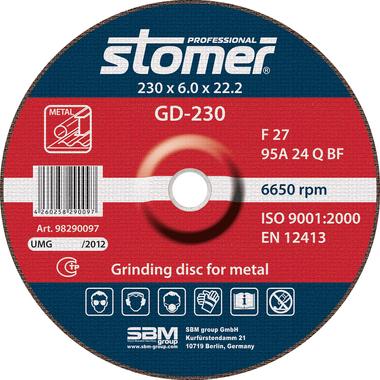 Диск шлифовальный GD-230